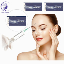 Acide hyaluronique injectable ha, comblement dermique