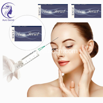Injectable hyaluronic acid ha face dermal filler
