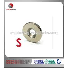 ID 4.2 x 2mm thick neodymium Countersunk magnet