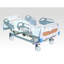(A-57) - Lit à l'hôpital à double fonction fonctionnel avec tête de lit ABS