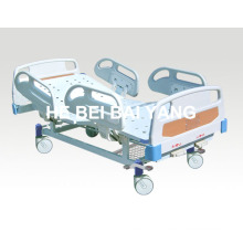 (A-57) --Movable Double-Function Manual Hospital Bed with ABS Bed Head
