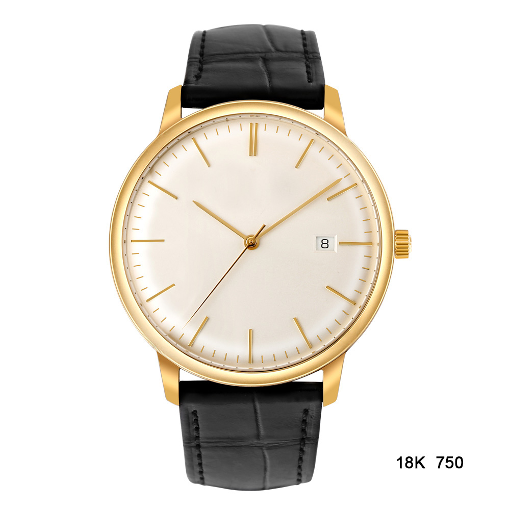 Automatic men gold watch
