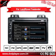 Navegador del GPS del coche de Land Rover Freelander 2 de la navegación del GPS de 7 pulgadas con el sintonizador DVB-T 2004-2007