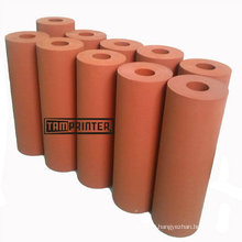 Red Rubber Roller Silicone Roller for Heat Transfer Machine