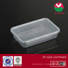 Récipient alimentaire en plastique (SK 500 avec couvercle)