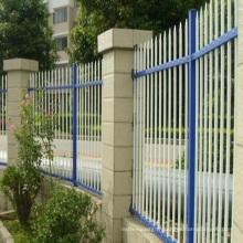 clôture horizontale en aluminium utilisé clôture de construction