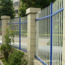 horizontal aluminum fence used construction fence