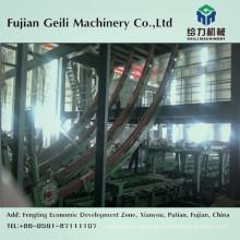 Máquina de fundição contínua para fundição de aço