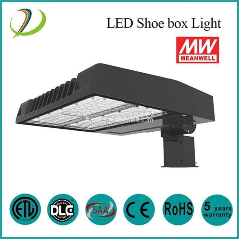 High Lumen IP65 LED Shoebox Light