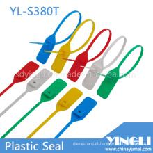 Selos de recipiente plástico com travamento metálico inserido (YL-S380T)