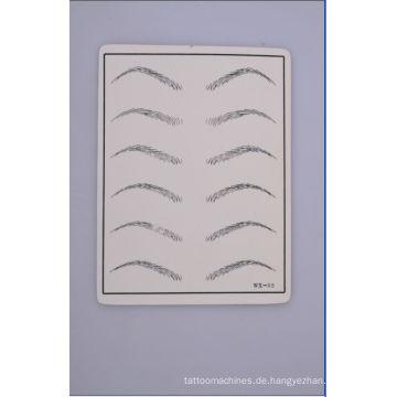 Großhandel Qualität und billige Augenbraue Tattoo Praxis Haut