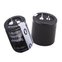 Condensateur électrolytique en aluminium terminal 105c Tmce18 de Topmay Sanp-in Pitch 10mm