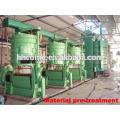 30-50T vegetable seeds oil cake solvent extraction plant
