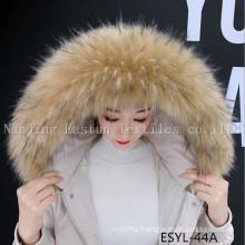 Fur Stripe and Fur Collars Esyl-44A