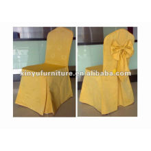 Популярный дизайн желтый стул покрытие XC973