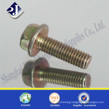 Galvanizing Hex Flange Bolt with Full Thread