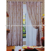 Hot Sell Window Embroidery Curtain, OEM Orders are Welcome