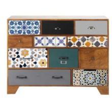 wood vintage cabinet