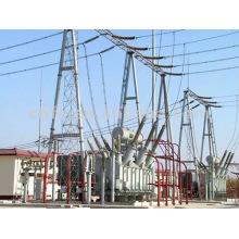 Transformador de energía inmerso en aceite de 110 kV