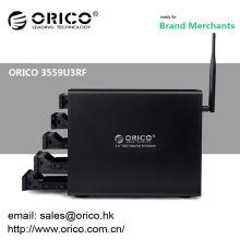 "ORICO Wi-Fi-NAS 3559U3RF Recinto externo de 3.5 ""RAID de 5 bahías"