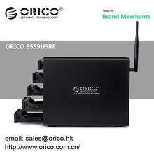 ORICO Wi-Fi-NAS 3559U3RF 5 baies 3.5 '' Boîtier externe RAID