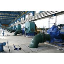 Station de pompage à eau centrifuge
