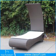Melhor Qualidade Barato Novo Design Pátio Cama Deitado, Pátio Reclinável Sunbed