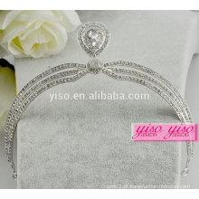 Moda européia noivas headbands jóia tiara