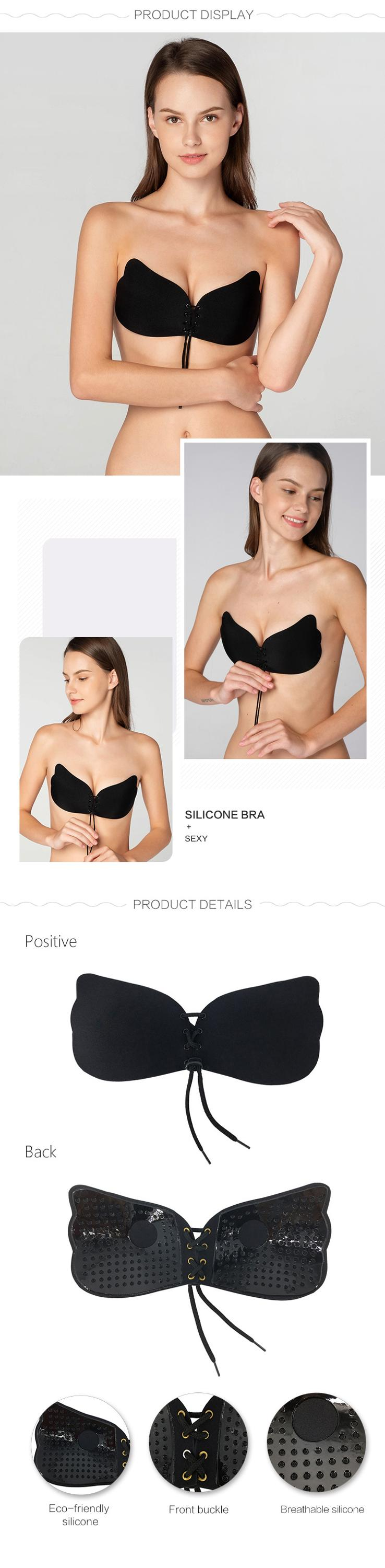 Women strapless bra-product details