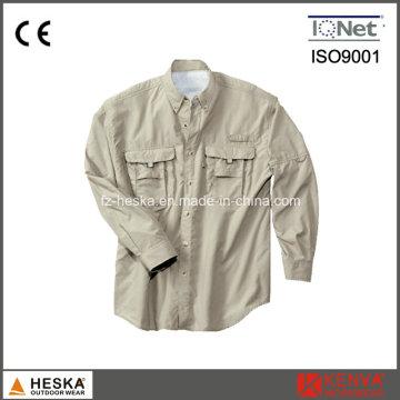 Vêtements de travail résistance UV Protection chemise
