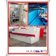 QC12Y 6x3200 machine à cisailler hydraulique à tôle métallique