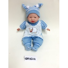 "18"" Blue Clothes Sleeping Doll"