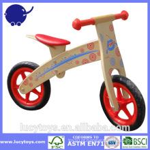 """12 """"Bicicleta de madeira de equilíbrio para crianças"""