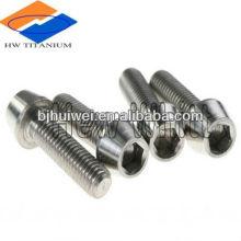 GR5 titanium stem bolt