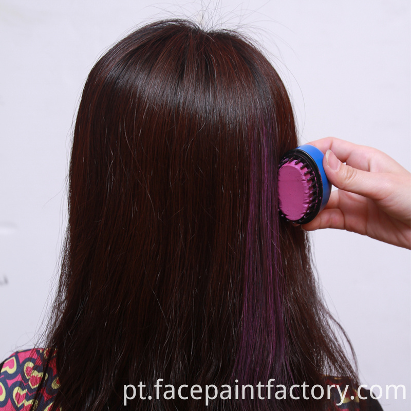 Washable Round Hair Chalk
