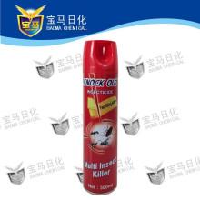 Insecticida aerosol a base de aceite
