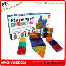 Playmags 2016 Magnetic Building Construction Blocks 3D Intelligenz Spielzeug 14pcs Sets