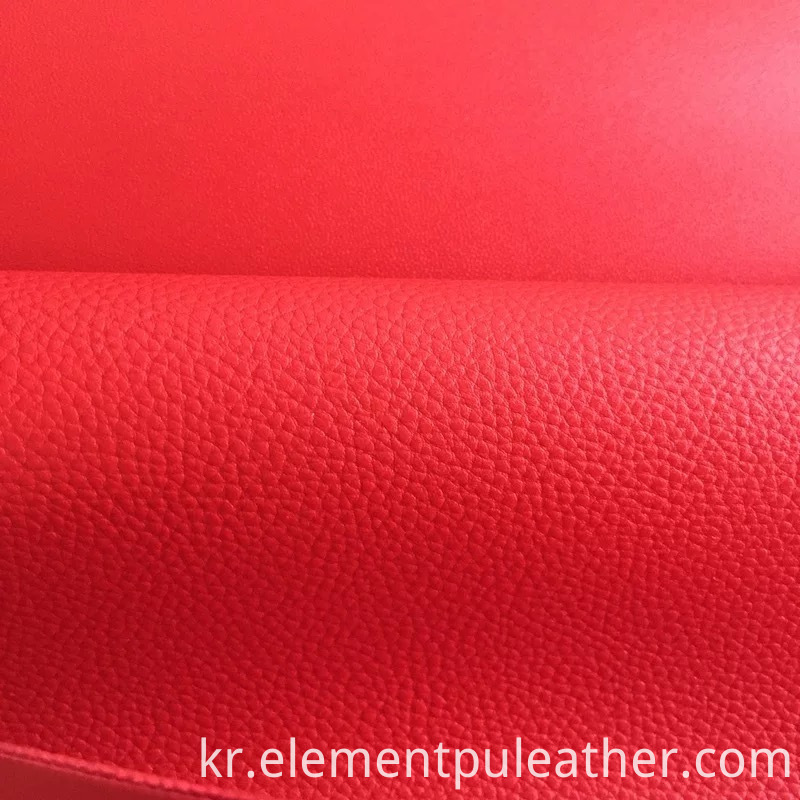 Litchi Grain Pu Leather