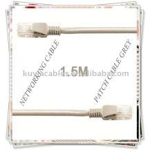 Cable de conexión de red Ethernet RJ45 de 1,5 m para transferencia de datos