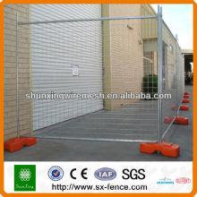 Panneaux de clôture temporaires soudés revêtus de PVC (fabricant ISO9001)
