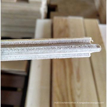 Plancher de bois d'ingénierie de chêne blanc naturel de couleur de 3 couches
