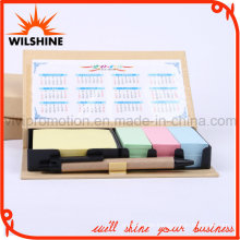 Good Quality Kraft Notepad with Calendar for Promotion Gift (GN022)