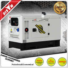 BISON China Zhejiang 10kw Max Power 10kva DC Circuit Breaker Silent Black Canopy Diesel Generator