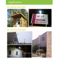 5W led Straßenlaterne, intelligente Solarleuchte mit PIR Motion Sensor, Outdoor-solar-led-Licht