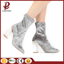 8cm high heel suede short confortable shoes