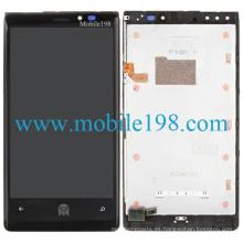 Pantalla LCD y digitalizador con carcasa frontal para Nokia Lumia 920