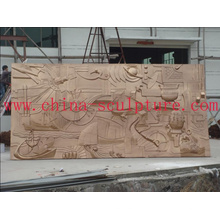 Hotel copper Decoration/Wall Relief Sculpture