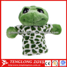 Kids animal hand puppets frog hand puppets