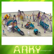 Escalade de fitness parc extérieur pour enfants jouer équipement glisser aire de jeux
