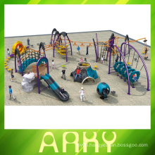 Fitness climbing children's outdoor park play equipment slide playground